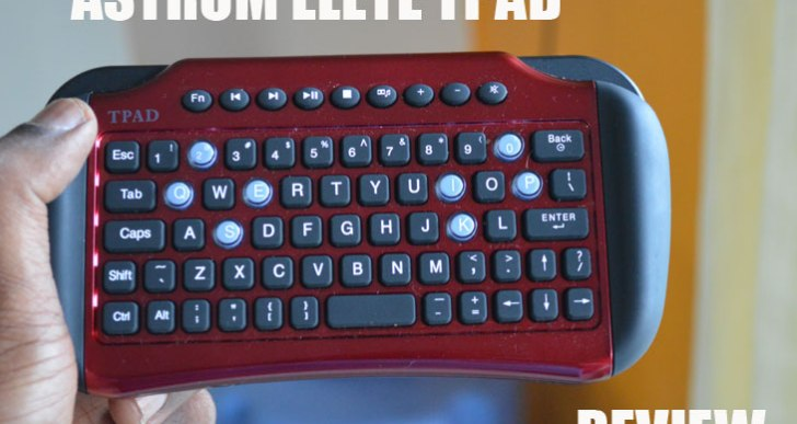 Astrum Elete Tpad Mini TouchPad Keyboard Review