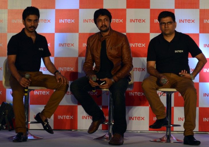 Intex ropes in Southern Actor Sudeep as Brand Ambassador