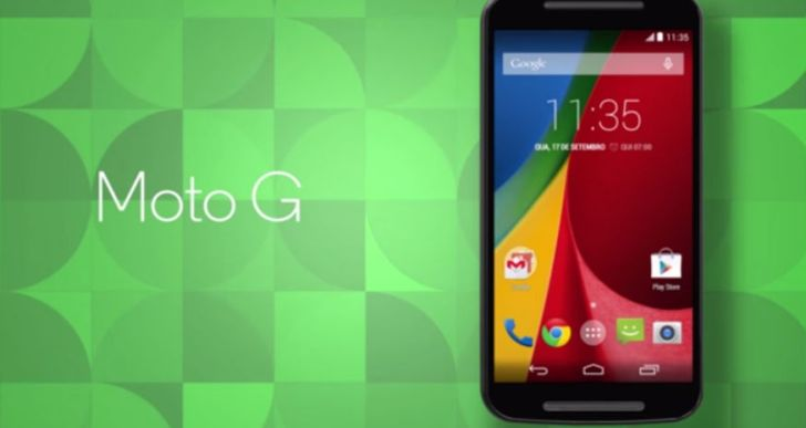 The new Moto G is bigger and better and cheaper than the predecessor
