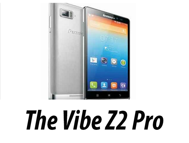 Lenovo Vibe Z Pro with 6-inch Display and top notch specs launched in India; Priced at Rs 32,999