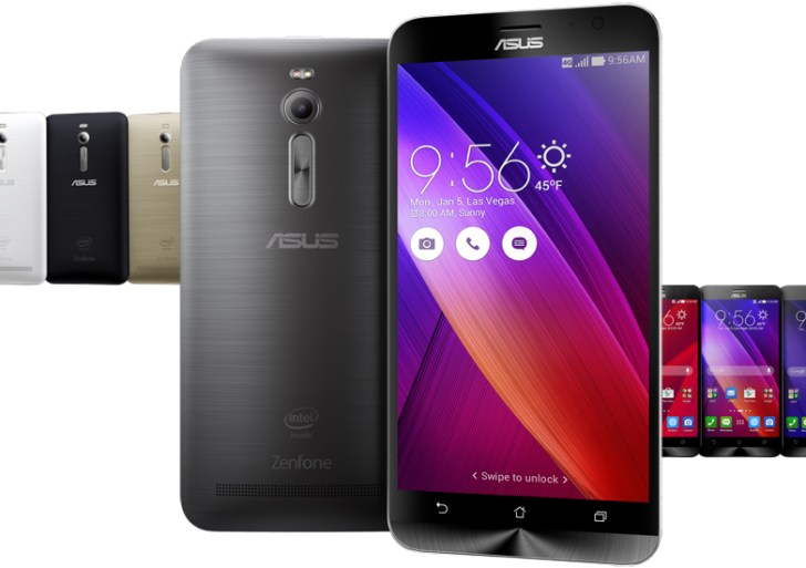 Take a breathe! Asus ZenFone 2 comes with 4GB of RAM