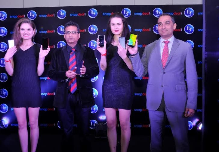 Fly Mobiles launches 3 Smartphones in India – Qik+, Qik and Snap