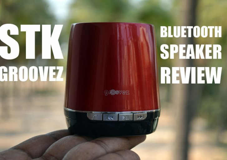 STK Groovez SMC650 Bluetooth Speaker Review: A Pint Sized Big Performer