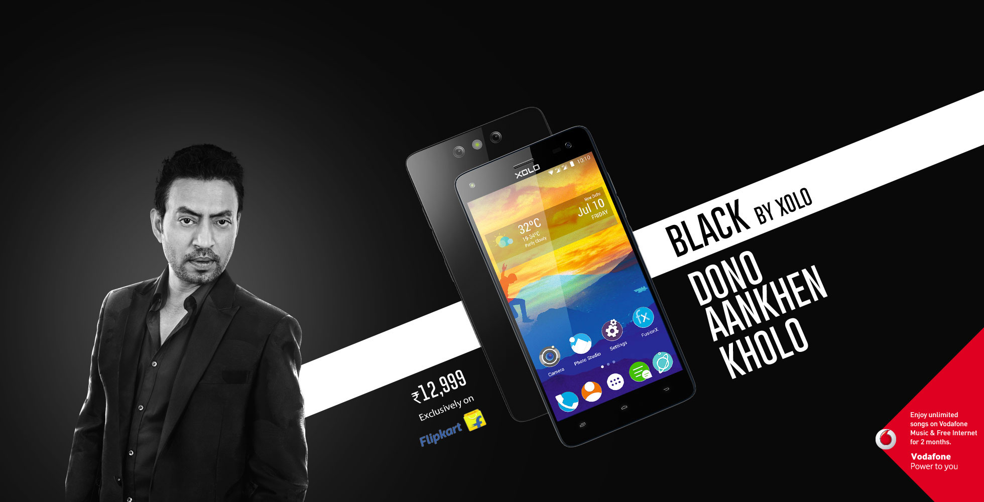 0a7d795a6 Xolo Black is Flipkart exclusive and features dual rear camera  Priced at Rs  12