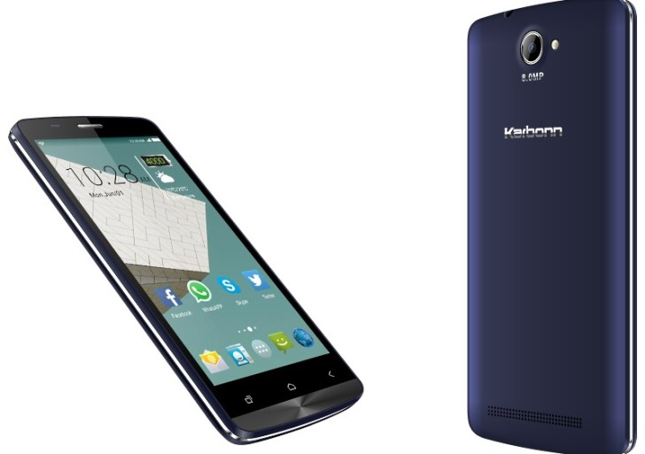 Karbonn Aura 9 with 4000mAh battery launched at Rs 6,390
