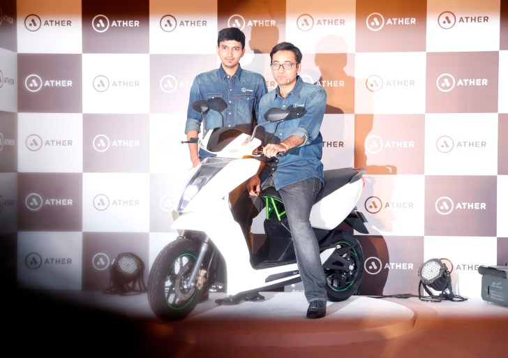 This Bengaluru Startup adds Smartness to its Electric Scooter , Ather S340