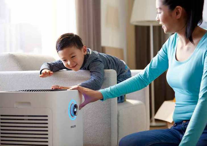 Philips introduces Air Purifier Series 3000 with real time monitor display