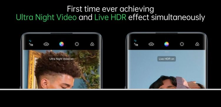 oppo ultra night video live hdr