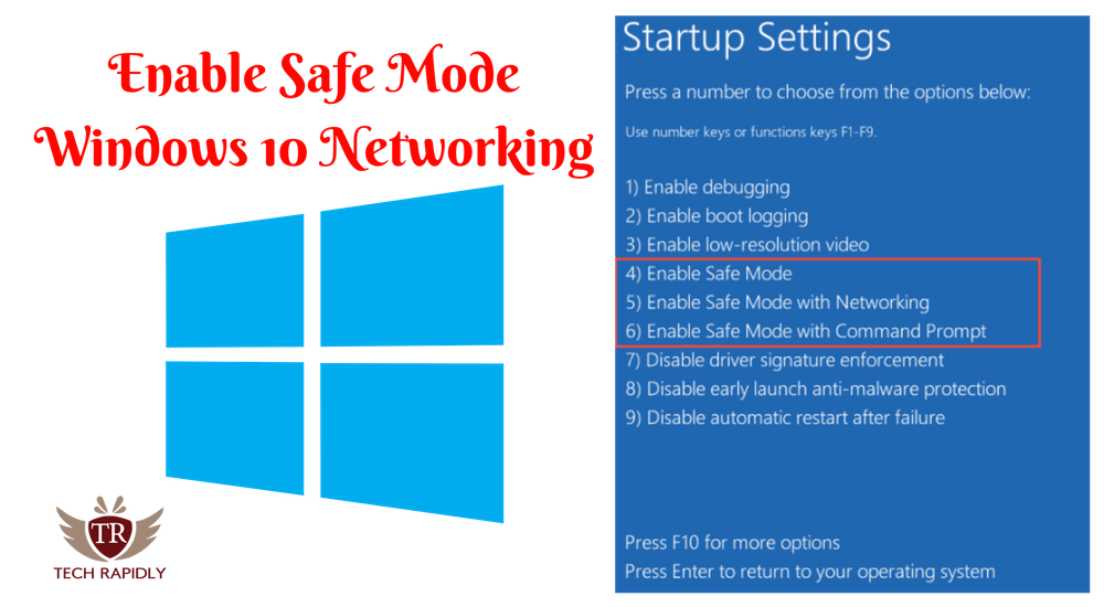 disable safe mode windows 10
