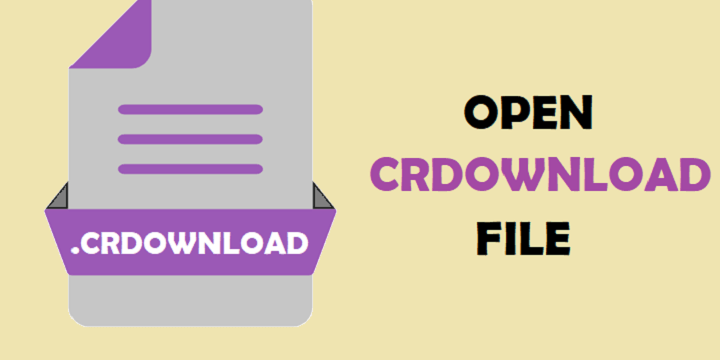 Open CRDOWNLOAD File