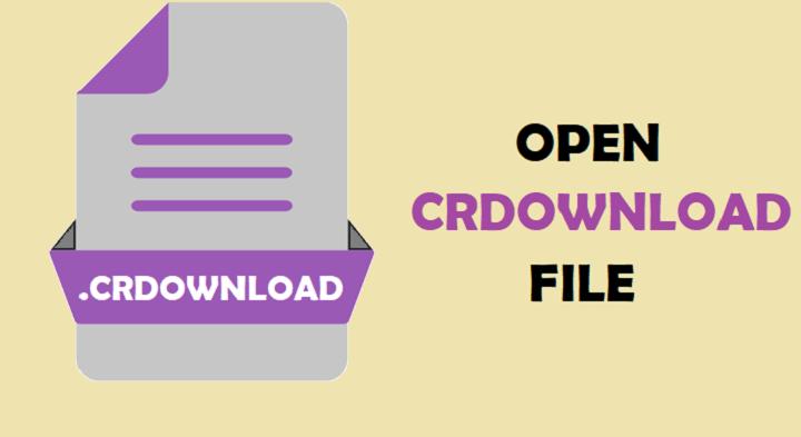Open CRDOWNLOAD File