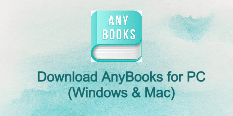 AnyBooks for PC