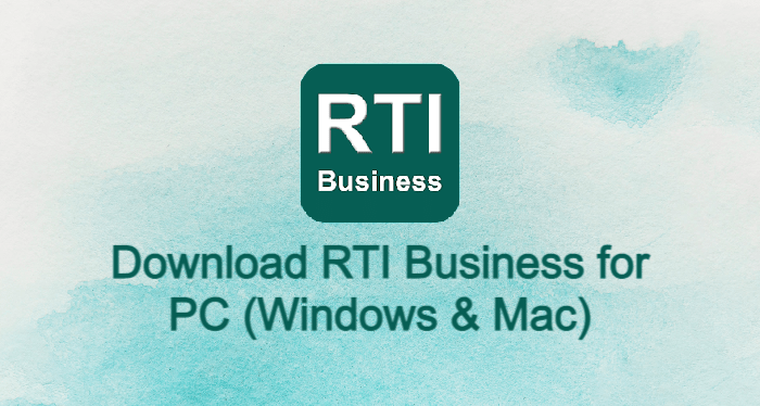 RTI Business for PC