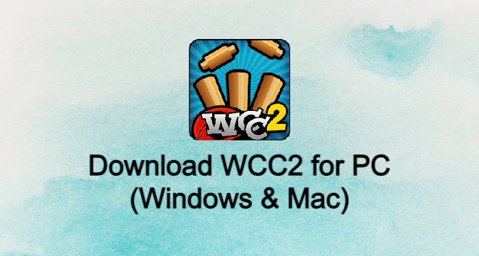 WCC2 for PC