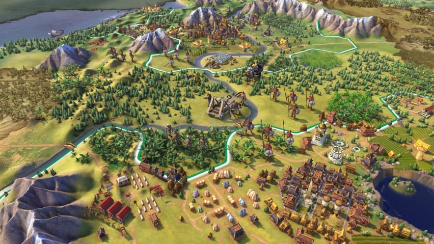 Civilization Vi Announced As Epic Game Store S Free Game