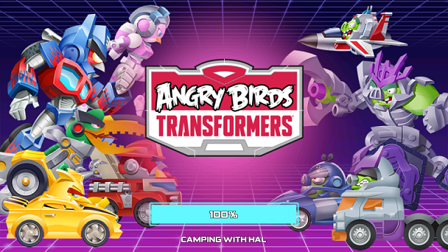 Angry birds loading