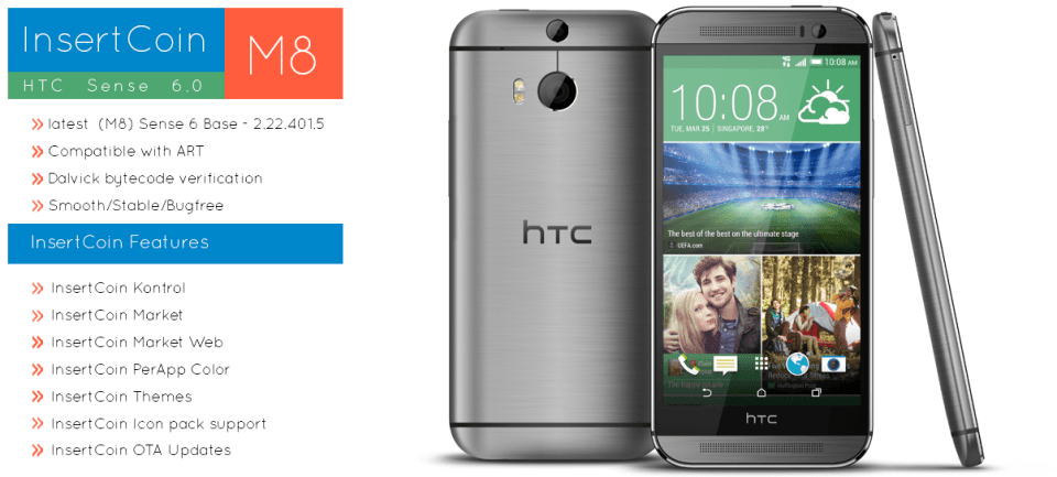 InsertCoin for HTC One
