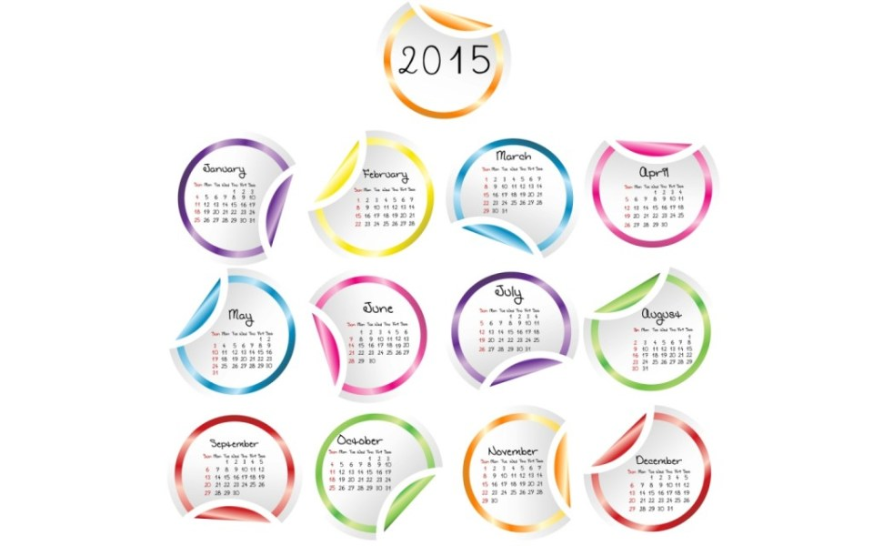 Best 2015 Calendar HD Wallpapers 16