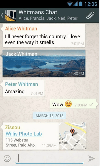 WhatsApp 2.11.491 APK 3