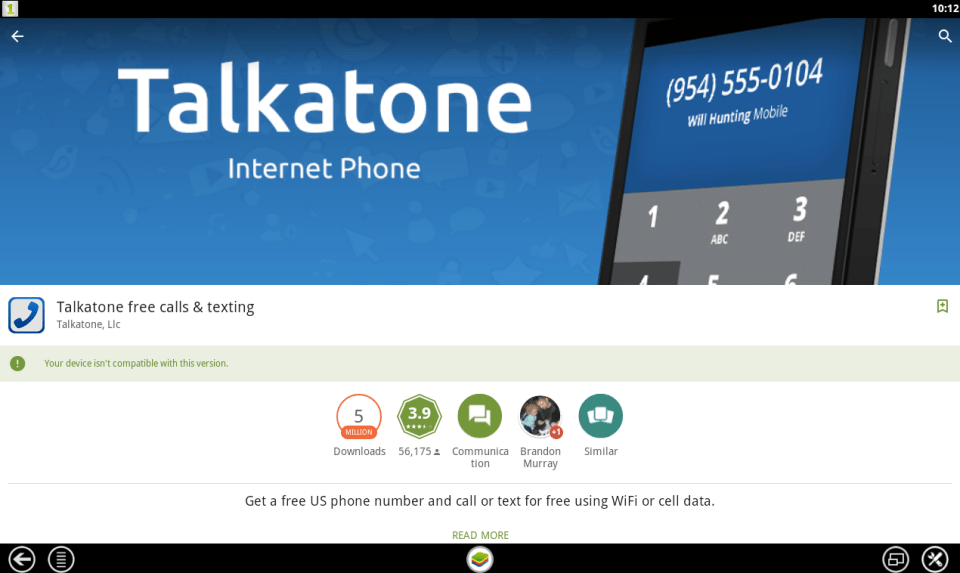 Talkatone for PC 5