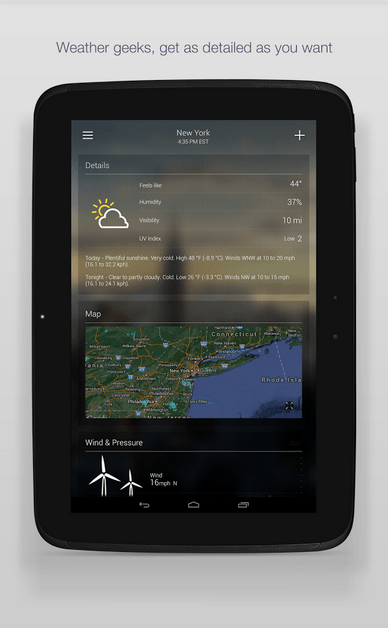 Yahoo Weather APK 4