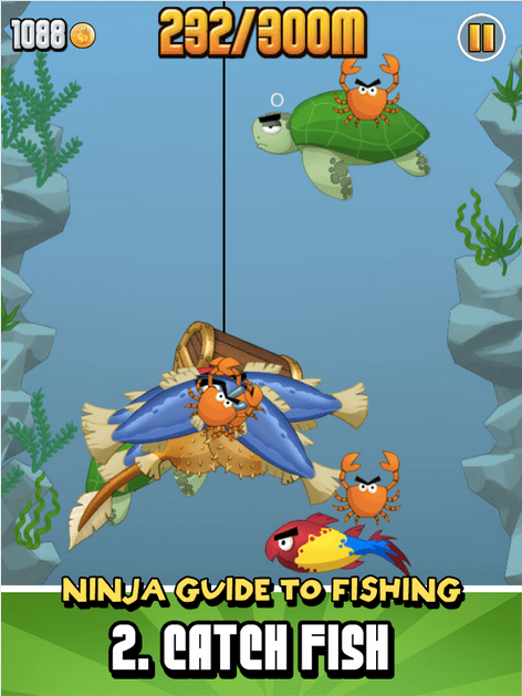 Ninja Fishing APK 3