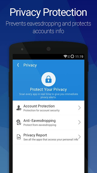 AntiVirus Pro Android Security APK 2