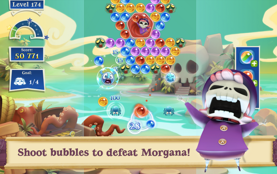 Bubble Witch 2 Saga Hack : Mod APK 4