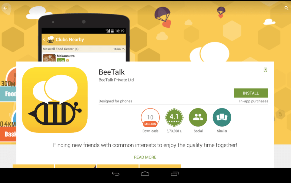 BeeTalk for PC 4