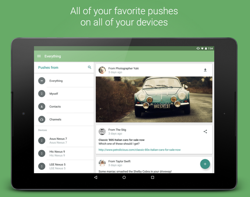 Pushbullet APK 3