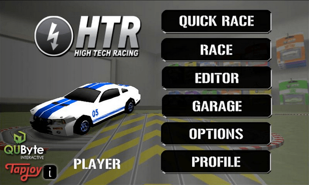 HTR High Tech Racing APK 2