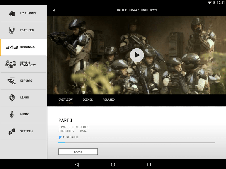Halo Channel APK 4