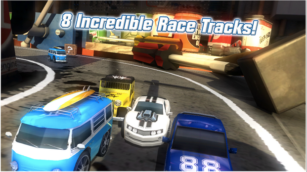 Table Top Racing Free APK 2
