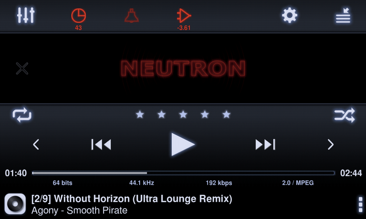 Neutron Music Player APK 2