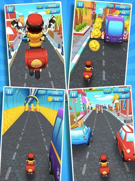 Subway Scooters APK 4
