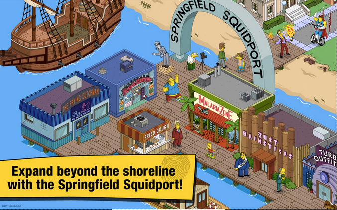 The Simpsons Tapped Out APK 4