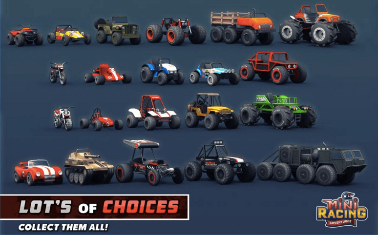 Mini Racing Adventures APK 4