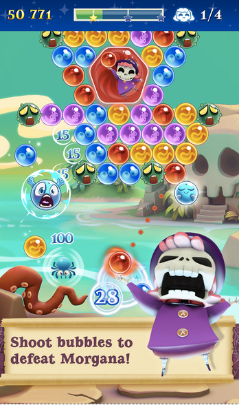 Bubble Witch 2 Saga APK 4