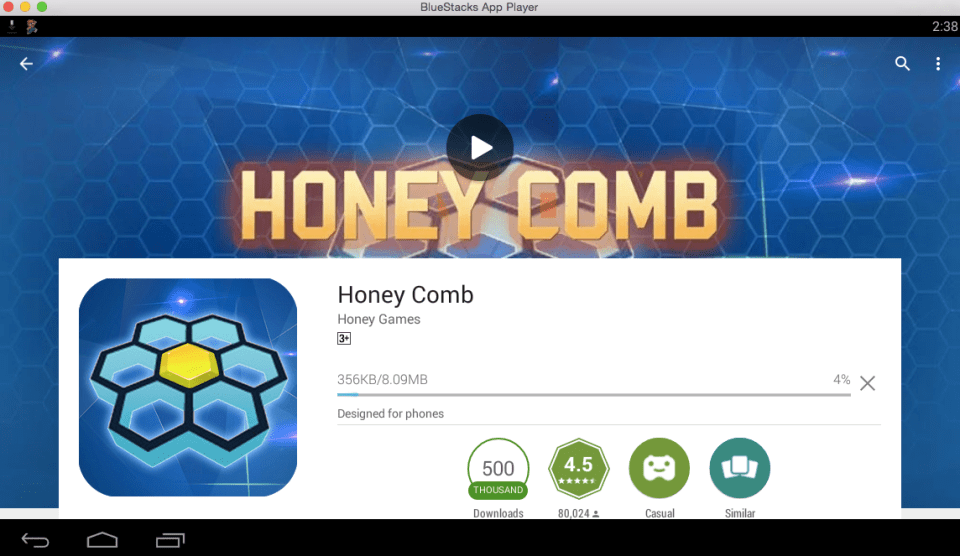 Honey Comb for PC 7