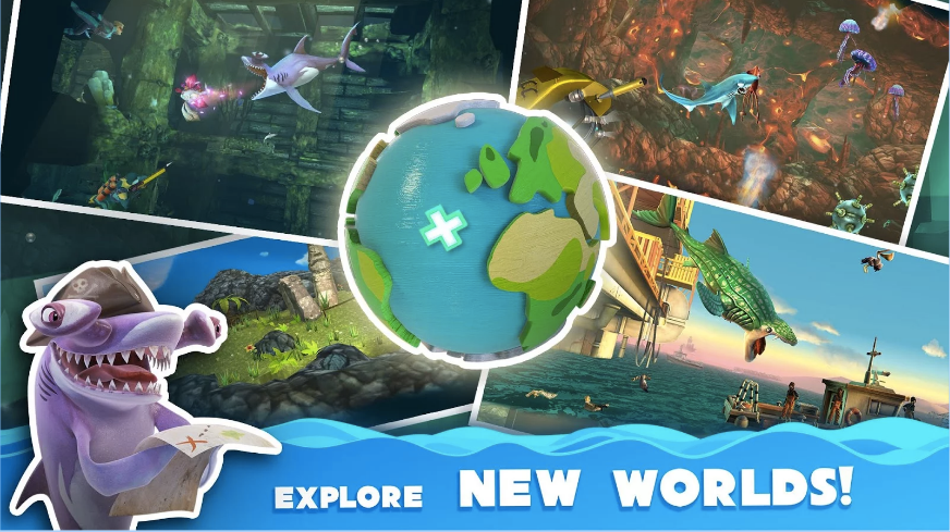 Hungry Shark World APK 4