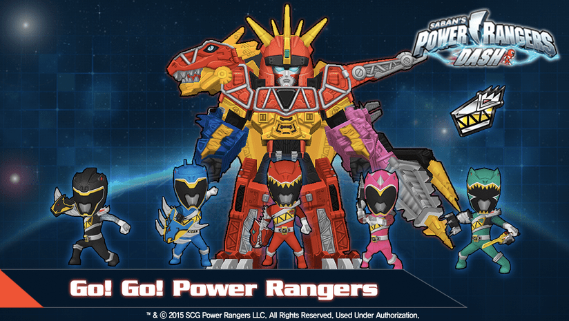 Power Rangers Dash APK 4