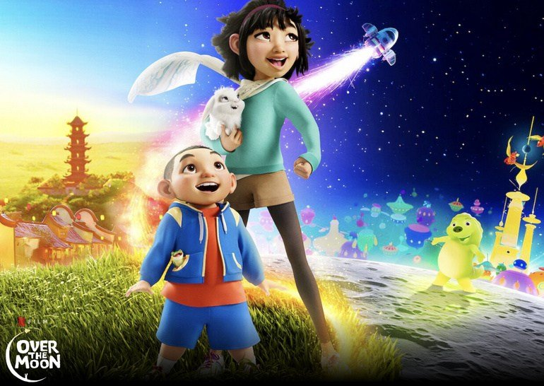 Review of the animated film: Over the Moon - TechRechard