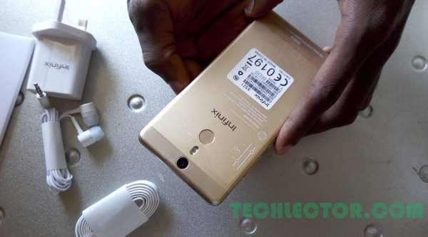 Infinix HOT S back cover