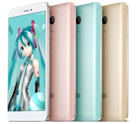 Xiaomi Redmi Note Hatsune Miku Special Edition
