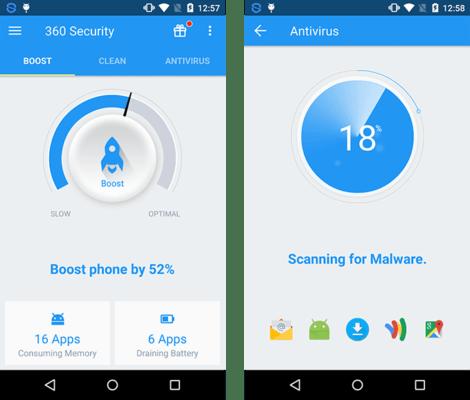 تسريع هاتف Android