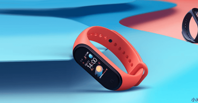 Xiaomi Mi Band 4 red color 1