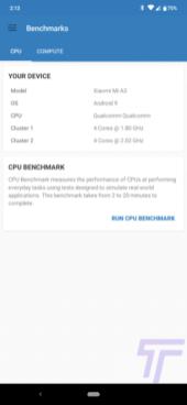 XIaomi Mi A3 Review Geekbench 5 141321
