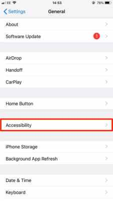 Disable Voice Control On iPhone