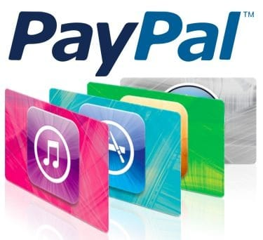 Gift Card Itunes Paypal 1