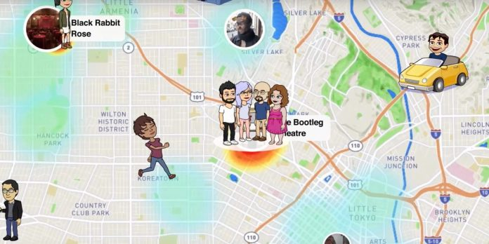 Snapchat Location Snap Map